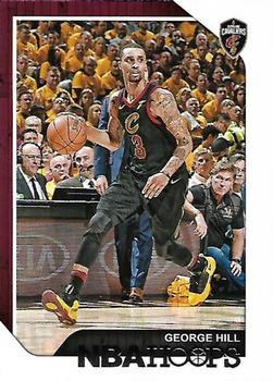 2018 Hoops Basketball Card #112 George Hill