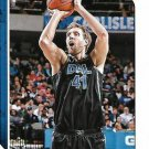 2018 Hoops Basketball Card #113 Dirk Nowitzki