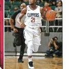 2018 Hoops Basketball Card #125 Patrick Beverley