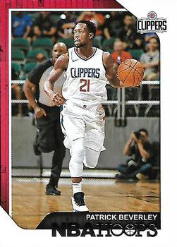 2018 Hoops Basketball Card #125 Patrick Beverley