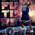 2018 Hoops Basketball Card Faces of the Future #20 Josh Okogie