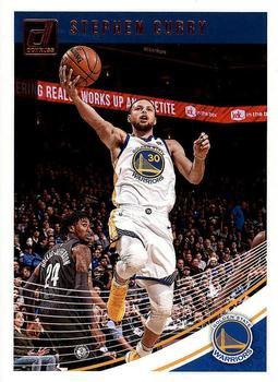 2018 Donruss Basketball Card #2 Stephen Curry