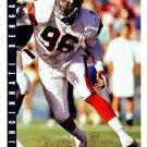 1993 Score Football Card #92 Daniel Stubbs
