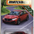 2019 Matchbox #8 17 Honda Civic Hatchback