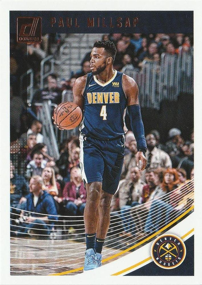 2018 Donruss Basketball Card #90 Paul Milsaps