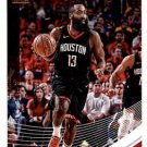 2018 Donruss Basketball Card #72 James Harden