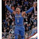 2018 Donruss Basketball Card #107 Russell Westbrook