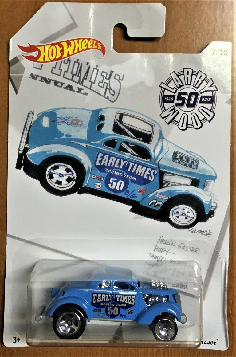 2019 Hot Wheels Larry Wood #7 Pass 'n Gasser