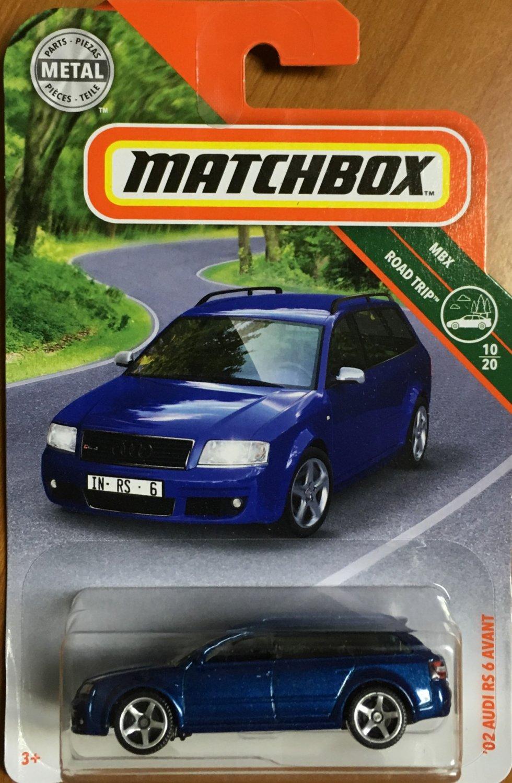 2019 Matchbox #16 02 Audi RS 6 Avant