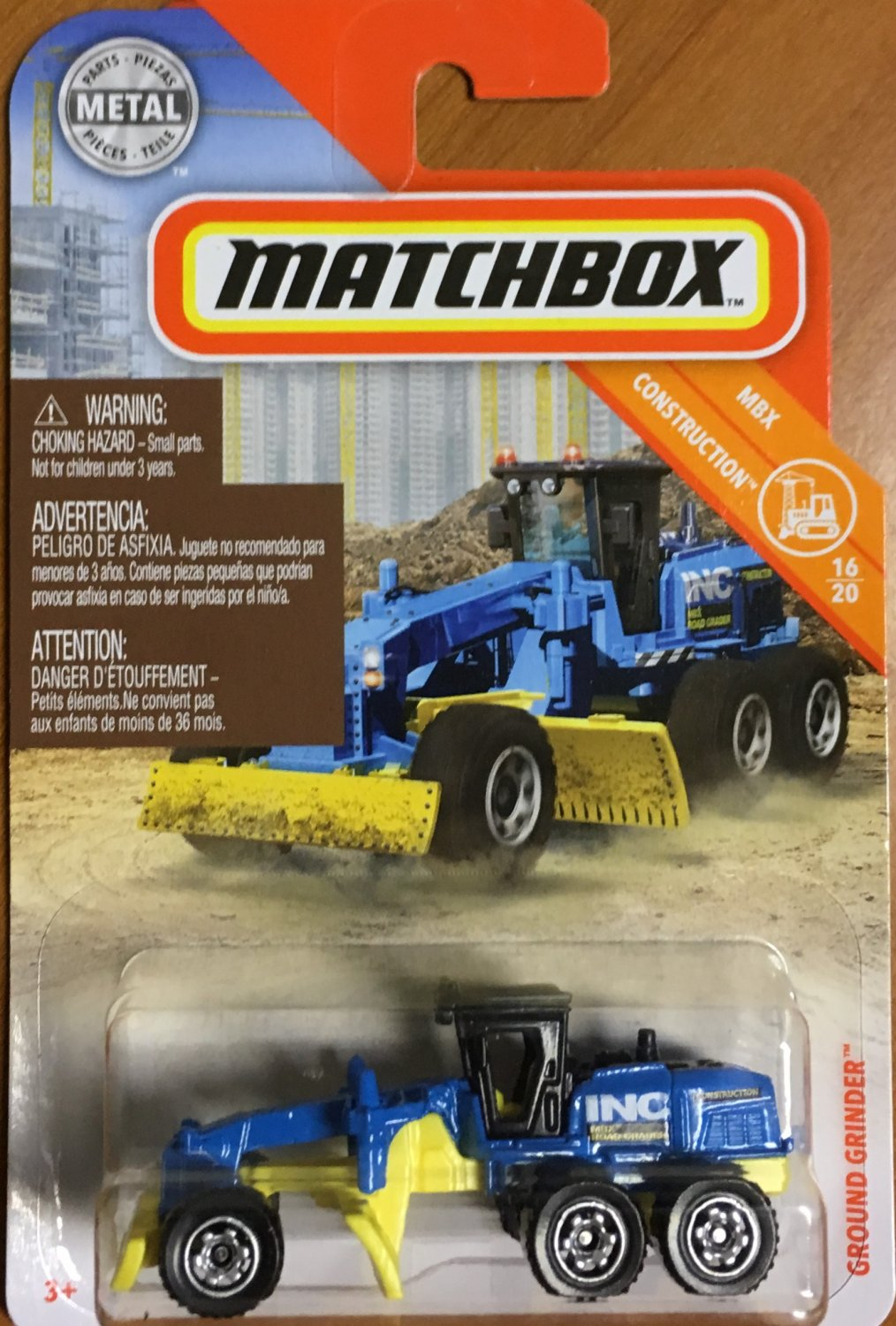 2019 Matchbox #39 Ground Grinder
