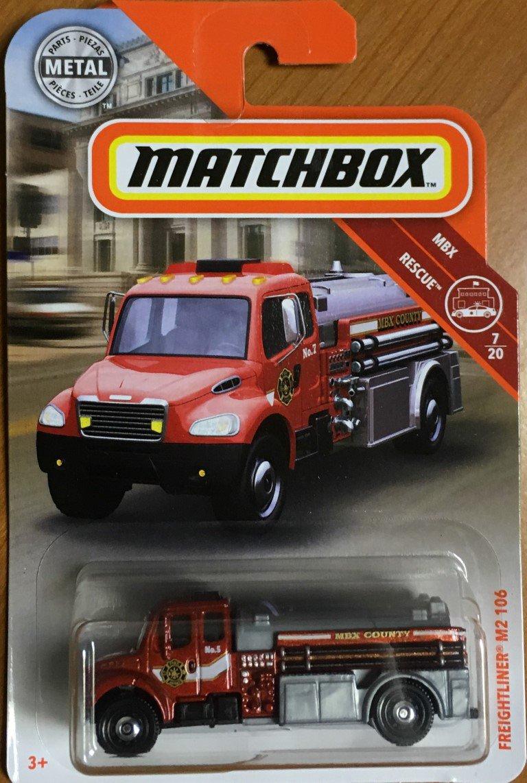 2019 Matchbox #48 Freightliner M2 106