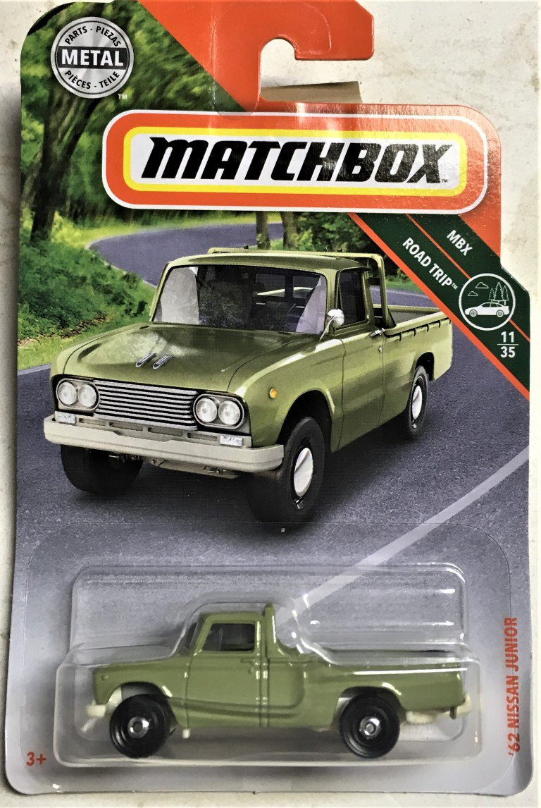 2018 Matchbox #14 62 Nissan Junior