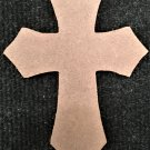 "6"" Ready-To-Paint Ornament, CROSS STYLE 2, 1/4"" MDF Unfinished Pack of 10"