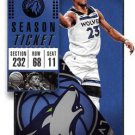 2018 Panini Contenders Basketball Card #41 Jimmy Butler