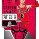 2018 Panini Contenders Basketball Card #44 Zach LaVine