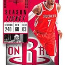2018 Panini Contenders Basketball Card #48 Carmelo Anthony