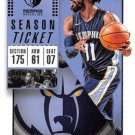 2018 Panini Contenders Basketball Card #60 Mike Conley