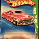 2010 Hot Wheels #45 Custom 53 Cadillac TREASURE HUNT