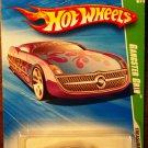 2010 Hot Wheels #50 Gangster Grin TREASURE HUNT