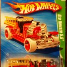 2010 Hot Wheels #52 Old Number 5.5 TREASURE HUNT