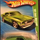 2010 Hot Wheels #56 69 Ford Mustang TREASURE HUNT