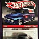 2010 Hot Wheels Slick Rides #9 50's Chevy Truck