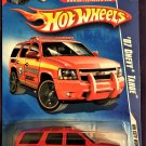 2009 Hot Wheels Battle Force 5 Card #108 07 Chevy Tahoe