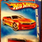 2009 Hot Wheels Battle Force 5 Card #122 Camaro Convertible Concept