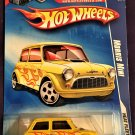 2009 Hot Wheels Battle Force 5 Card #124 Morris Mini