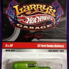2009 Hot Wheels Larry's Garage #8 32 Ford Sedan Delivery GREEN