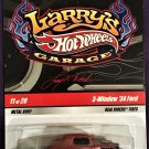 2009 Hot Wheels Larry's Garage #11 3 Window 34 Ford BROWN