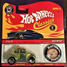 2008 Hot Wheels Classic 4 with Button #2 Baja Beetle