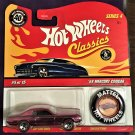 2008 Hot Wheels Classic 4 with Button #5 68 Mercury Cougar