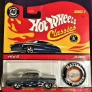 2008 Hot Wheels Classic 4 with Button #14 56 Chevy