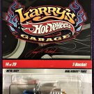 2009 Hot Wheels Larry's Garage #14 T-Bucket Silver