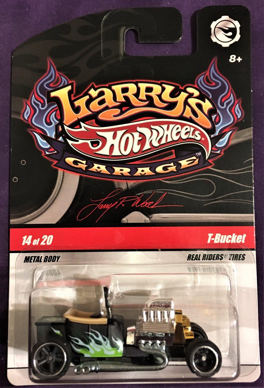 2009 Hot Wheels Larry's Garage #14 T-Bucket BLACK