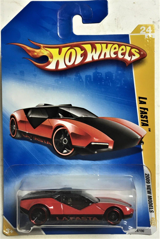 2009 Hot Wheels #24 La Fasta RED