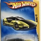 2009 Hot Wheels #24 La Fasta YELLOW