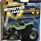 2018 Hot Wheels Monster Jam Tour Favorites #6 Soldier of Fortune