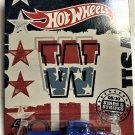 2018 Hot Wheels Stars & Stripes #5 Custom 56 Ford Truck