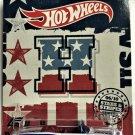 2018 Hot Wheels Stars & Stripes #6 1967 Pontiac GTO