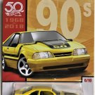 2018 Hot Wheels Throwbacks 90's #6 92 Ford Mustang