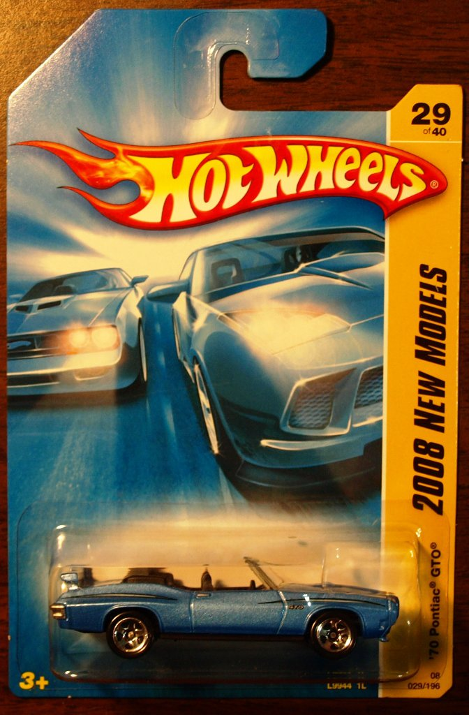 2008 Hot Wheels #29 70 Pontiac GTO