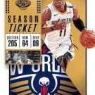 2018 Panini Contenders Basketball Card #91 Jrue Holiday