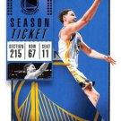 2018 Panini Contenders Basketball Card #96 Klay Thompson