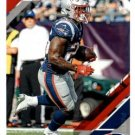 2019 Donruss Football Card #163 Sony Michel