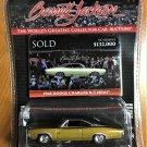 Greenlight Barrett Jackson 3 #37160C 1968 Dodge Charger R/T Hemi
