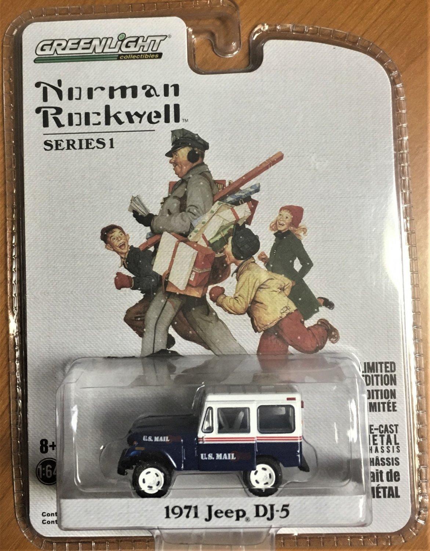 Greenlight Norman Rockwell Series 1 #37150C 1971 Jeep DJ-5