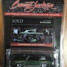 Greenlight Barrett Jackson 3 #37160F 1970 Pontiac GTO Judge