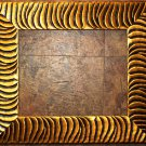 "4 x 6 2-1/2"" Tiger Stripe Picture Frame"